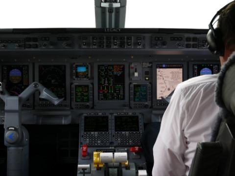 Cabine de pilotage de 650