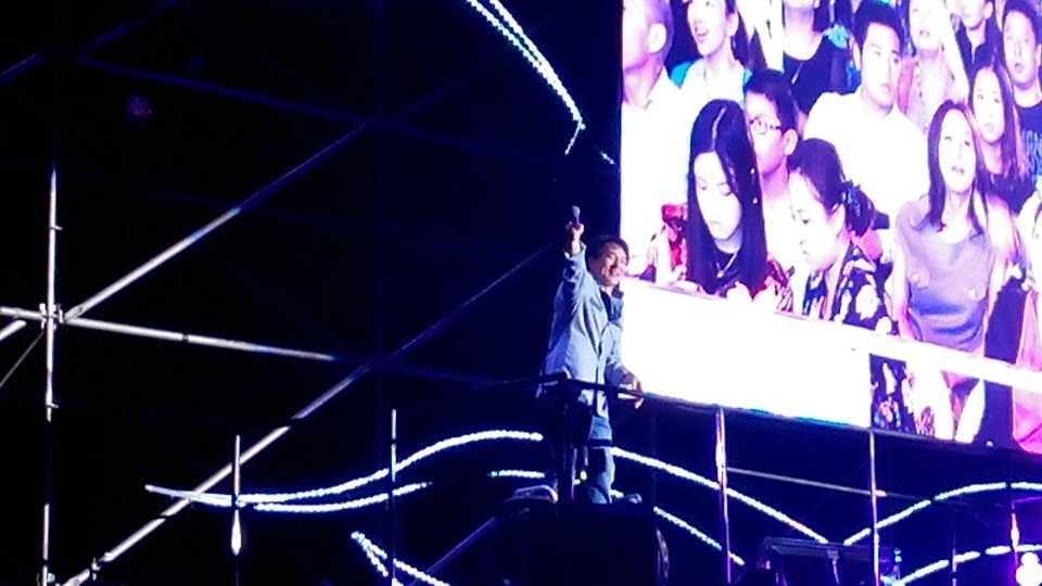 Jackie au concert de Hanzhou 03