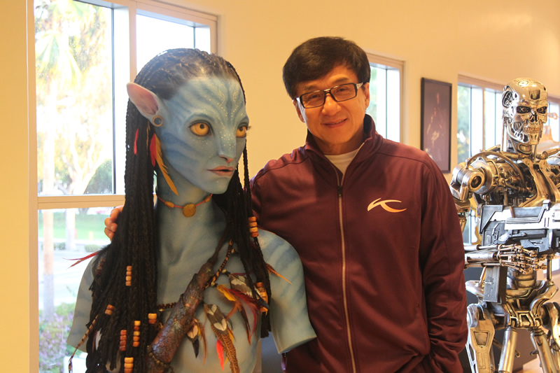 Jackie Chan et Neytiri