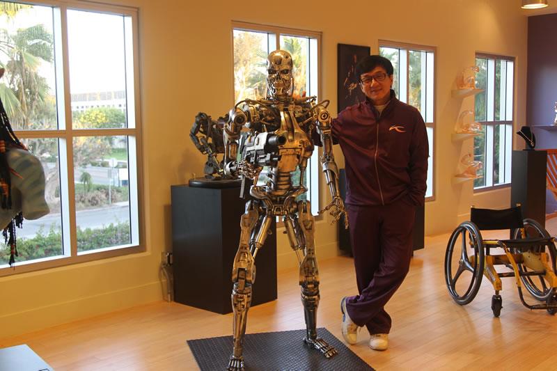 Jackie Chan et Terminator
