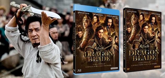 Le visuel du DVD/Blu-Ray de Dragon Blade