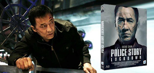 Visuel du Blu-Ray et DVD français de Police Story Lockdown (2013)