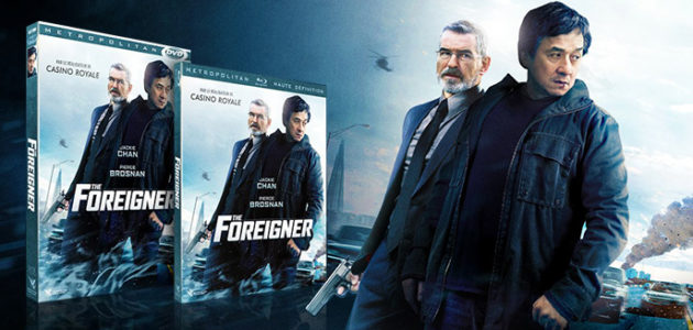 THE FOREIGNER en dvd et blu-ray en mars !