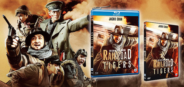 RAILROAD TIGERS en DVD et Blu-Ray en France !