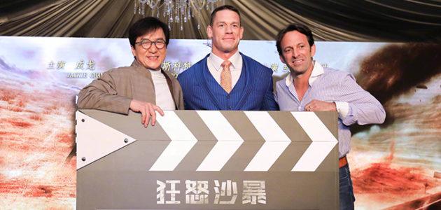 Jackie Chan et John Cena présentent leur nouveau film !