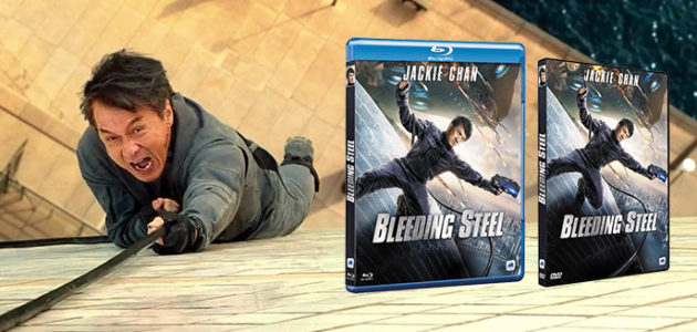 BLEEDING STEEL débarque en DVD et Blu-Ray en France !