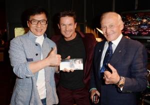 Jackie, Felix Baumgartner, Buzz Aldrin