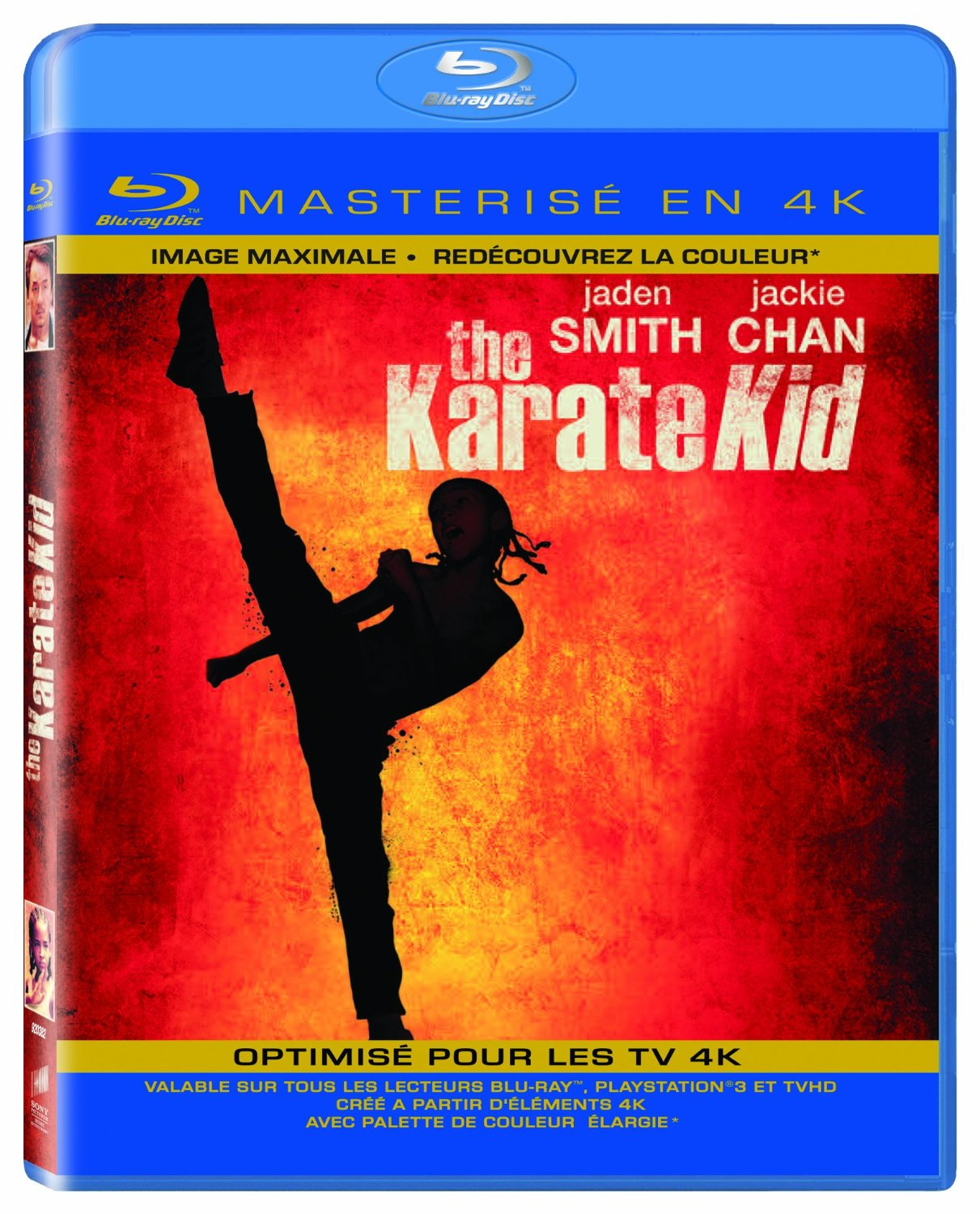 Jaquette Blu-ray 4K de Karate Kid