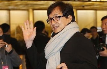 Jackie Chan à l'Hôtel international de Beijing