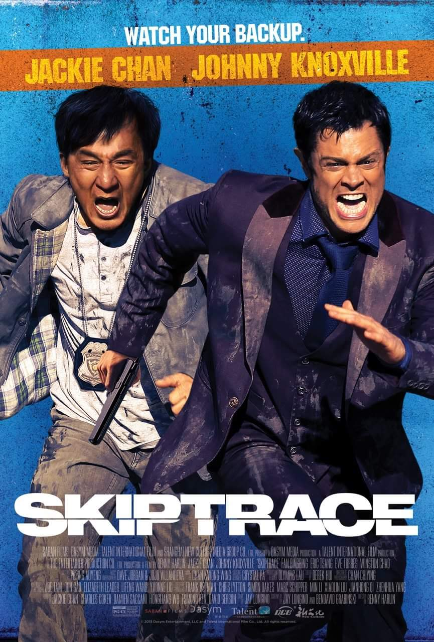 Skiptrace-US Poster